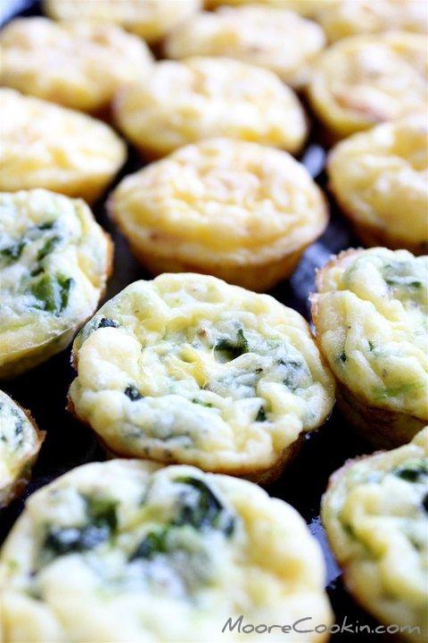 Mini Frittatas | Moore Cookin