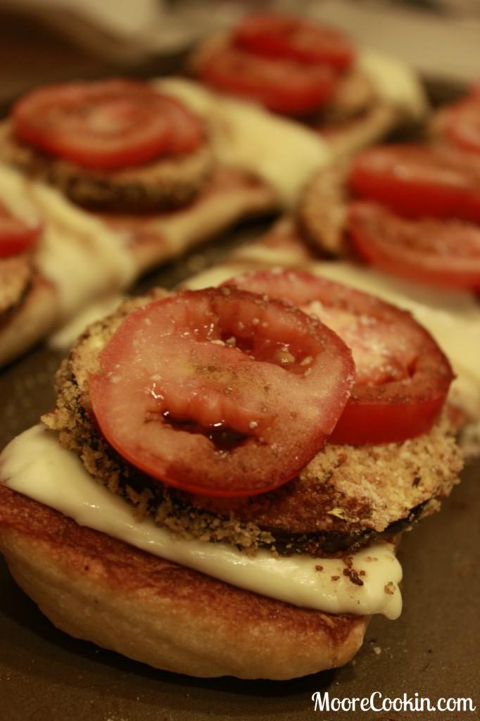 Eggplant Parmesan Flatbread Recipe