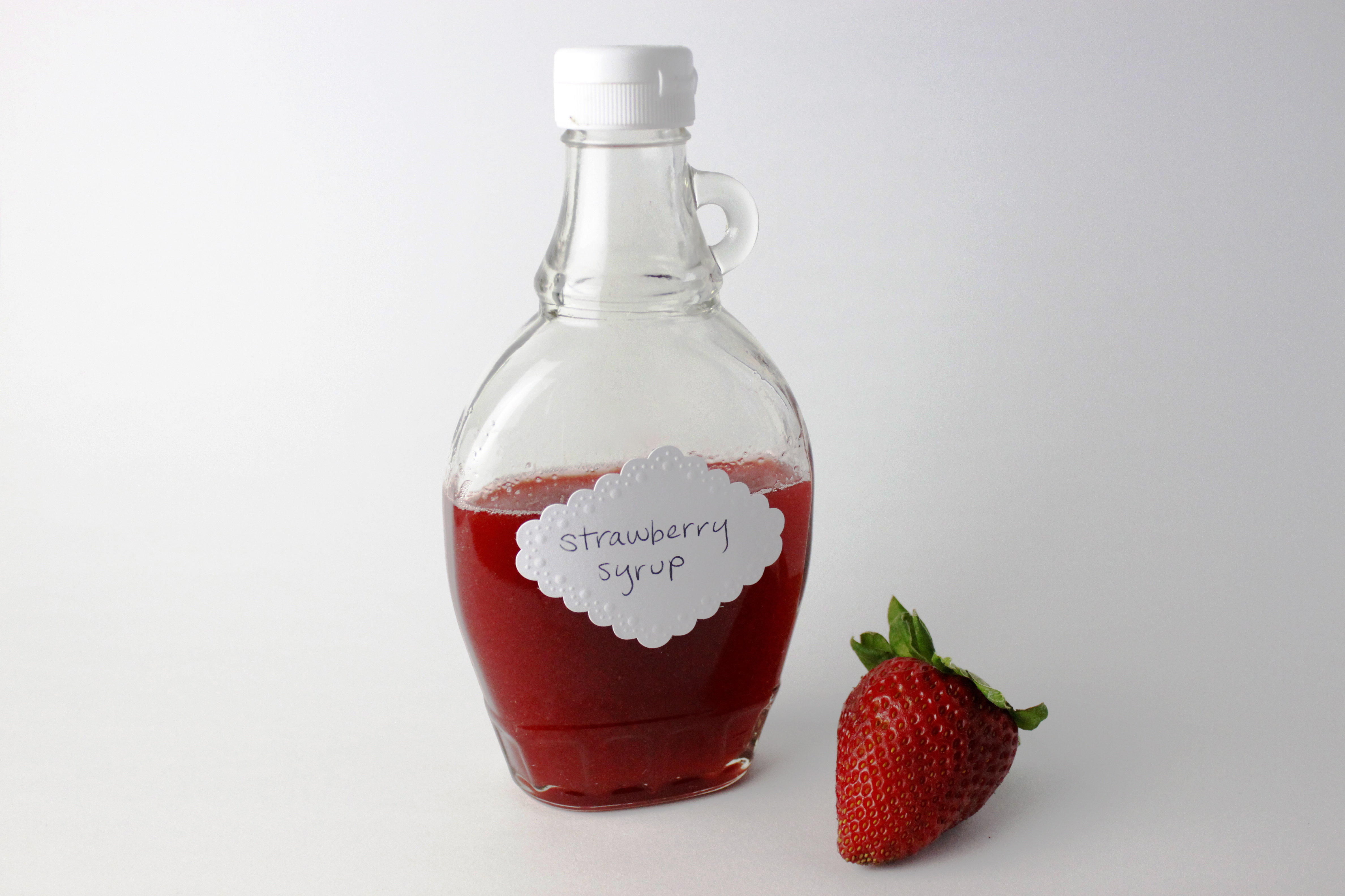Simple Strawberry Syrup | Moore Cookin'
