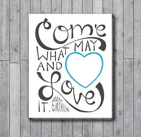 Come What May | The Printable Pearl
