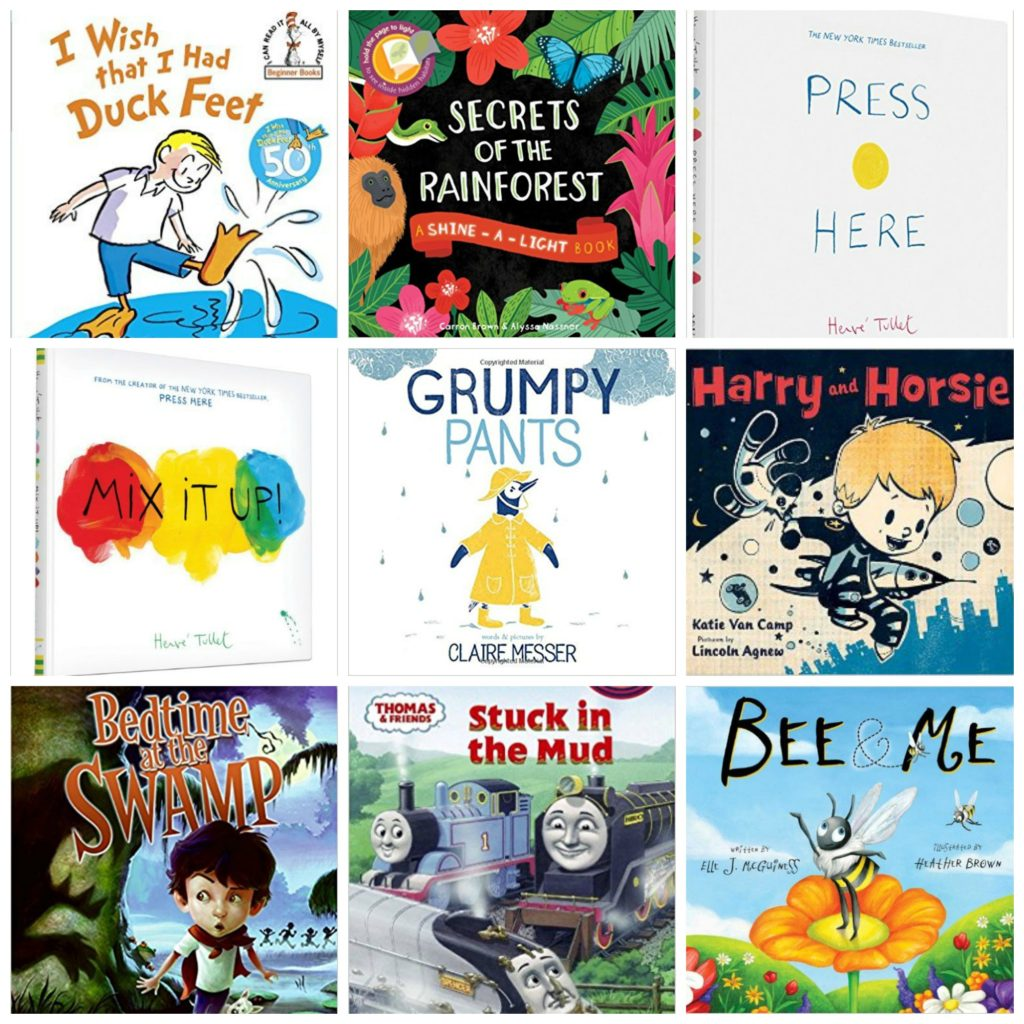 Favorite Toddler Books February March